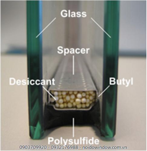 Kính hộp ngoài cản tia cực tím còn nâng cao khả năng cách âm cách nhiệt cửa nhựa lõi thép cao cấp