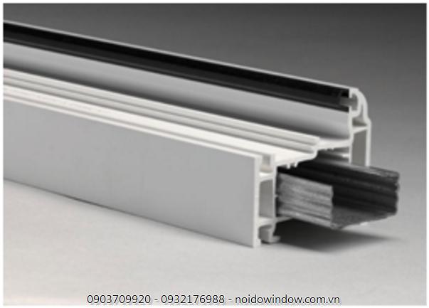 Mỗi loại thép cửa nhựa lõi thép hcm tương ứng với từng loại profile